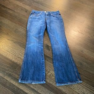 7 For All Mankind Pink A pocket Jeans 27 EUC